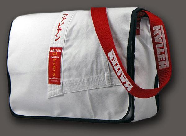 Tasche aus Judo Karate Anzug